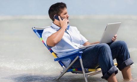 Tips om je werk los te laten tijdens je vakantie en voor een lege inbox na de vakantie
