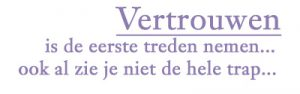 vertrouwen. Personal & Business Improvement